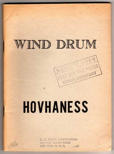 Wind Drum - Music Dance Drama, Op. 183 [STUDY SCORE]