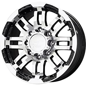 "Vision 375 Warrior Gloss Black Wheel with Machined Face (16x6.5""/5x130mm)"
