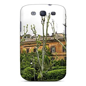 Galaxy S3 Case, Premium Protective Case With Awesome Look - Building In Rome