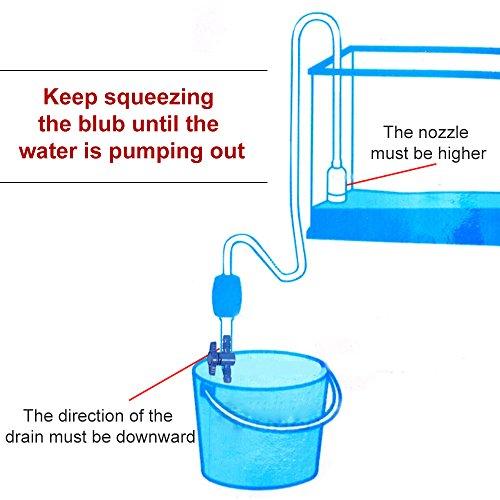 Buy fish tank water change pump