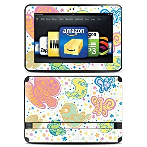 "Kindle Fire HD 8.9"" Skin Kit/Decal - Birds & Butterflies (will not fit HDX models)"