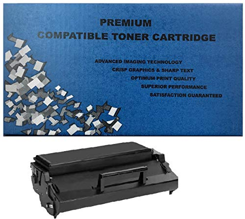 ALL CITY USA REMANUFACTURED Toner Cartridge Replacement for LEXMARK E320/E322 (Black) HIGH Yield