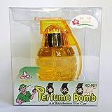 Perfume Bomb Air Freshener (Orange - Lemon Scent)