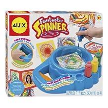 ALEX Toys Artist Studio Fantastic Spinner, PAINT 1 fl oz (30ml)x 4 by ALEX Toys