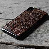 handmade Genuine leather cover case FOR iphone X 5.8'' inch Leather Back case