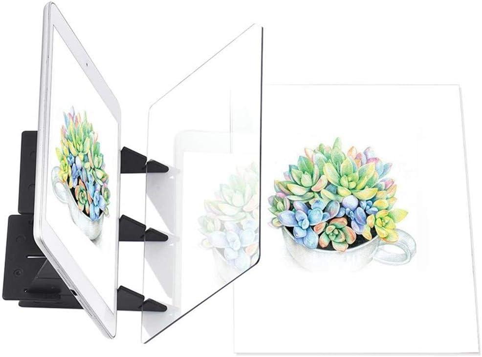 Tablero de Pintura óptico Portátil Panel de Copia Manualidades de ...