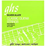GHS Classical Guitar Set (Clear Nylon, Silver Wound Strings, Tie End)
