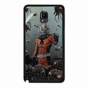 Funda For Samsung Galaxy Note 4,Customized Back Funda For Samsung Galaxy Note 4,Ant-Man Marvel Heroes Funda