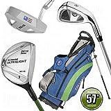 US Kids Golf UL-57 5 Club Stand Bag Set