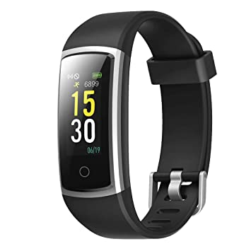 LATEC Pulsera Actividad, Fitness Tracker IP68 Impermeable Monitor de Frecuencia Cardiaca 14 Modos Reloj Inteligente Mujer Hombre Pulsera Deportiva ...