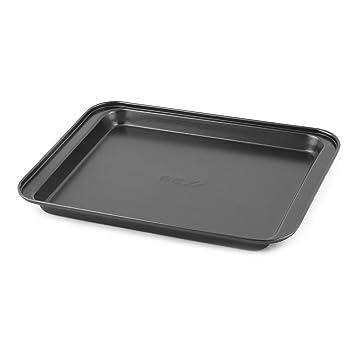 Sourcingmap - ® Metal casa para horno rectangular Pan DIY molde para hornear pan bandeja plato negro: Amazon.es: Hogar