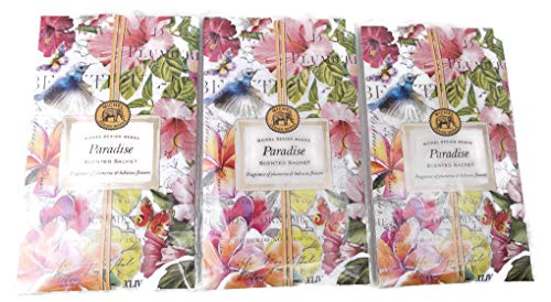 (Michel Design Works Paradise Scented Sachet 3 Pack )