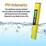 Mture-PH-Tester-Misuratore-Digitale-Misuratore-PH-Digitale-Gamma-000-1400-Penna-PH-Portatile-PH-test-per-acquari-Piscine-Acqua-Laboratorio-giallo