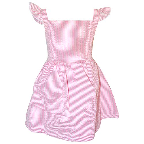 Unique-Baby-Girls-Easter-Basket-Seersuck-Dress