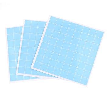 3 x Blau Kunststoff Fliesen Prints Küche Tabelle ...