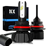 JDM ASTAR Newest Version NX 10000 Lumens Extremely Bright High Power 9007 All-in-One Fanless Design LED Headlight Bulbs