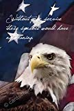 Proud Eagle - Military Appreciation Greeting Card