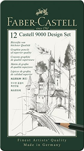 Faber Castell 9000 Design Pencil FC119064 Pack of 12 by Faber Castell