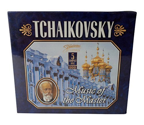(Tchaikovsky Music of The Masters 5 CD Compact Disc Classical Music Set)