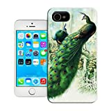 BreathePattern-Two Peacocks-Apple iPhone 4 case