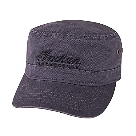 f7f2c0f53220e Image Unavailable. Image not available for. Color: Indian Motorcycle Gray  Army Hat