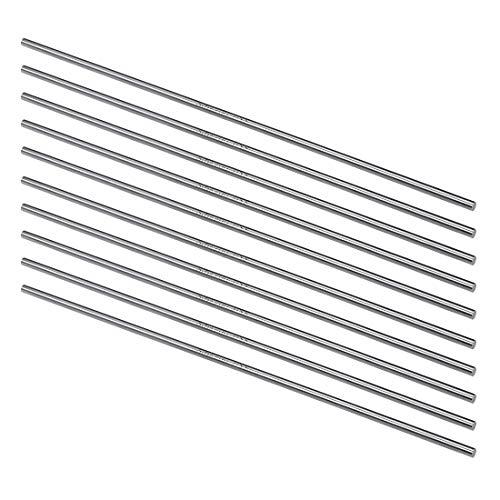 3.5 Mm Shaft - uxcell HSS Lathe Round Rod Solid Shaft Bar 3.5mm Dia 200mm Length 10Pcs