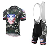 Dianno NonStop club 3.0'' Breathable Cycling Short Sleeve Jersey And Bib Short .Set clothing. 18 Styles for choose. (BT321, xxx-Large)