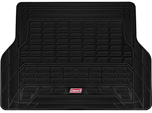 Coleman Cargo Mat Trunk Liner Fits Most Sedans, Coupes and SUVs - Semi Custom Trimmable - Black (Black)