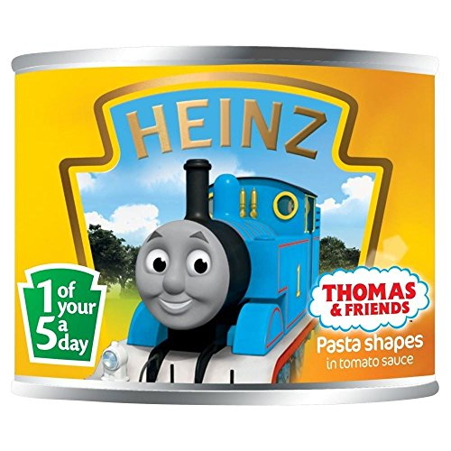 Heinz Thomas the Tank Engine Multigrain Pasta Shapes in Tomato Sauce with Omega 3 (205g) - Pack of 6
