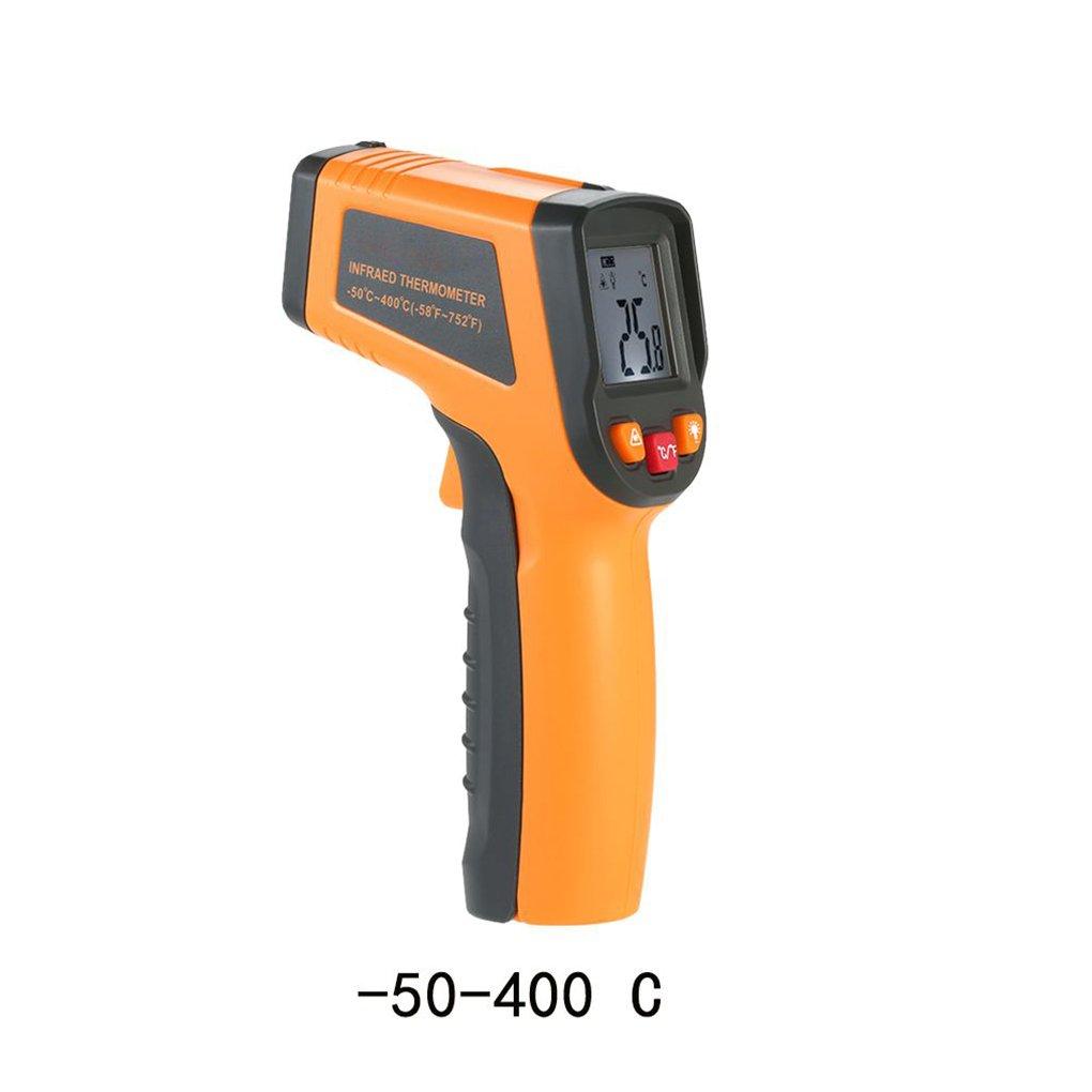 Pirómetro IR de Infrarrojos, rango -50 a 400 ℃