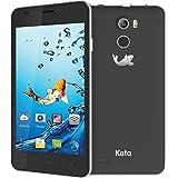 Kata V5 - 4.5-inch IPS Quad Core International Unlocked Smartphone Android 5.1 - Super Slim HD 1.3 GHz Dual Sim Card GSM 8MP Camera (Black)