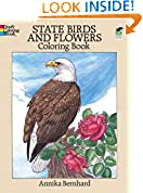 #7: State Birds and Flowers Coloring Book