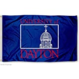 This University of Dayton Insignia Flag measures 3' x 5' in size, has Quadruple Stitched fly ends, is made of durable Polyester, and has two Metal Grommets for attaching to your flagpole. The Screen Printed UD Flyers logos are Officially Licensed and...