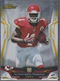 2014 Topps Finest De'Anthony Thomas Chiefs Rookie Football Card #126