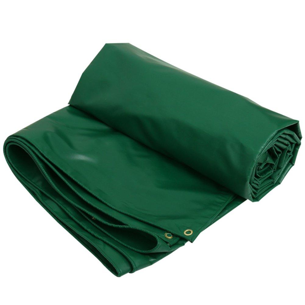 CHAOXIANG オーニング 厚い 折りたたみ可能 両面 防水 日焼け止め 防風 防塵の 耐摩耗性 耐寒性 耐食性 軽量 PVC 緑、 450g/m 2、 厚さ 0.4mm、 10サイズ (色 : 緑, サイズ さいず : 3x4m) B07DC5JBNG 3x4m|緑 緑 3x4m