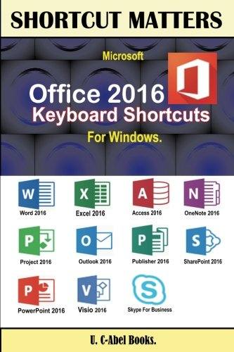 Price comparison product image Microsoft Office 2016 Keyboard Shortcuts For Windows (Shortcut Matters)
