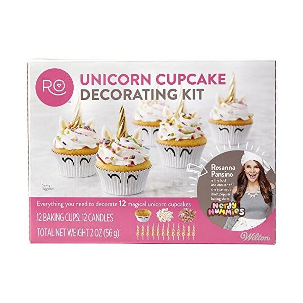ROSANNA PANSINO by Wilton Unicorn Cupcake Decorating Kit 3