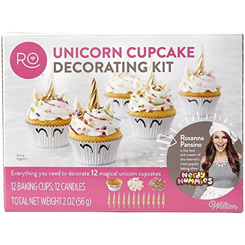 ROSANNA PANSINO by Wilton Unicorn Cupcake Decorating