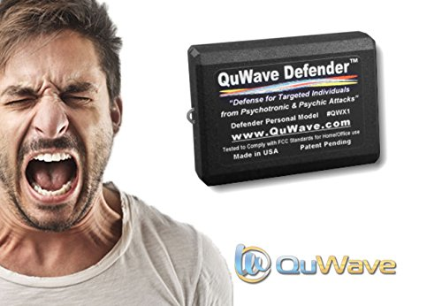 EMF Protection for Targeted Individuals, Psychotronic Attacks, Electronic Harassment, Electronic Weapons, HAARP, Implants, Microwaves, Psychic & Spiritual Attacks, V2K (QuWave Personal Defender QWX1B)