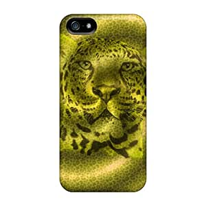 Ideal ChrismaWhilten Cases Covers For Iphone 5/5s(leopard), Protective Stylish Cases