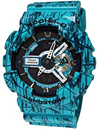 G-Shock GA-110 Slash Pattern Designer Watch - Turquoise /...