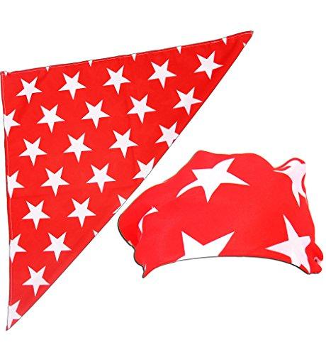 Macho Man Star Printed Costume Bandana