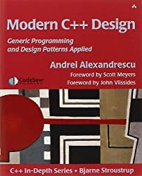 Modern C++ Design: Generic Programming and Design Patterns Applied 1st by Alexandrescu, Andrei (2001) Paperback