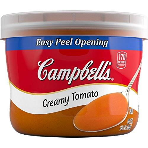 Campbell's Soup, Creamy Tomato, 15.4 Ounce (Pack of 8) (Campbells Tomato Soup)
