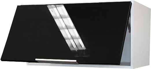 Mobile alto da cucina sopra cappa Melanzana Altro 80 x 34 x 35 cm Berlioz Creations