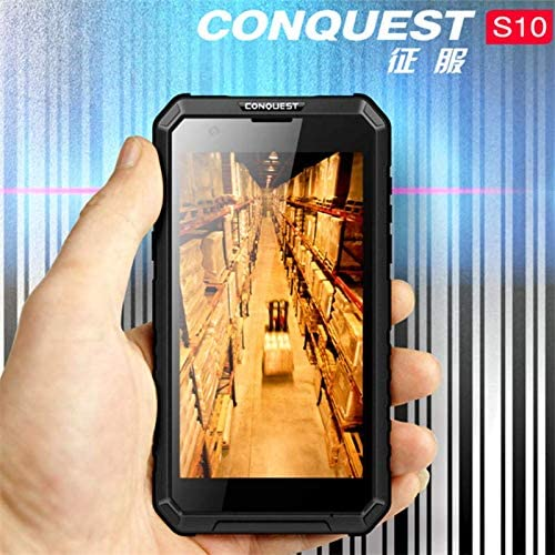 Conquest S10 Rugged Smartphone IP68 GPS Octa Core LED Light Torch ...