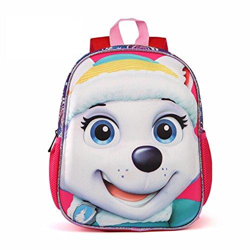 11271b093bb5 YOURNELO Boys Girls Cute 3D Paw Patrol Waterproof Backpack Preschool Baby s School  Bag ...