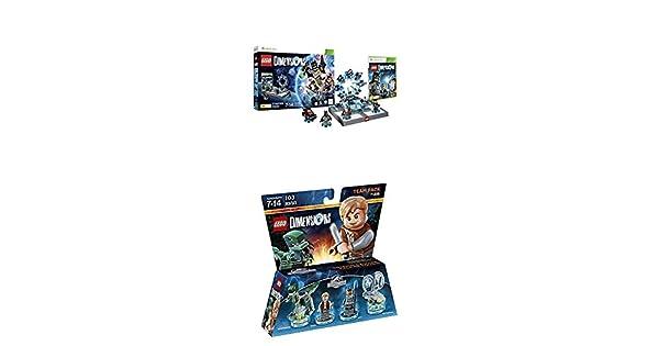 LEGO - Starter Pack Dimensions (Xbox 360) + LEGO Dimensions - Jurassic World, Owen & ACU: Amazon.es: Videojuegos