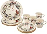 Lenox Winter Greetings 12 Piece Set