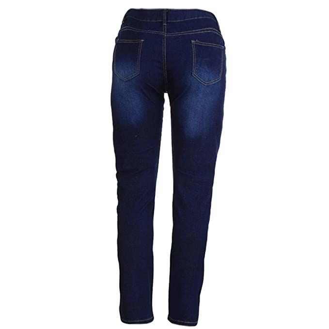 Vectry Jeans Damen Slim Fit Skinny Fit Jeans Destroyed Herbst Jogger Push  up Ankle Straight Leg ac4f27fc32
